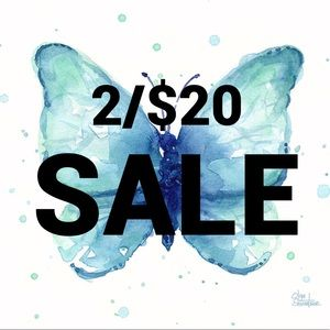 Other - 2/$20 SALE!! Scroll through to find items!